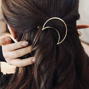 Accessories - 🌙 Gold Moon Hair Barrette
